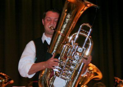 Blech und Co live in Senden - Solist Herrman Heinle