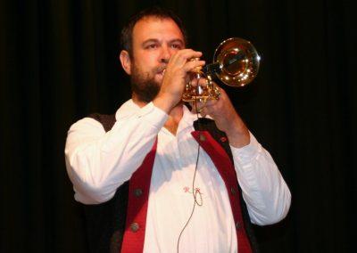 Blech und Co live in Senden - Solist Robert Remmele
