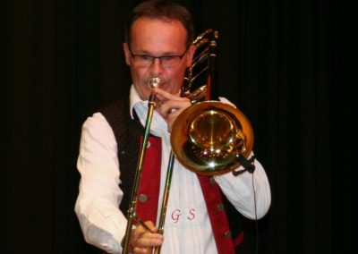 Blech und Co live in Senden - Solist Günter Schwarz